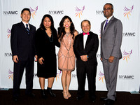 Alex Ong, Carolyn Antonio, Cecilia Tow, Larry Lee and Yogesh Bahl