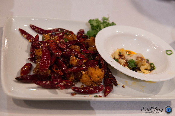 Chef Luo's final dish