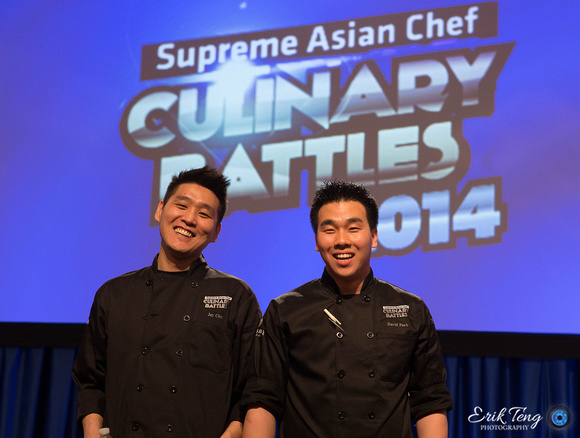 Winners Chef Cho and Chef Park
