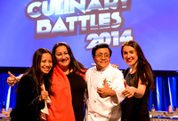Quyenzi Pham (Findr Group), Monique Tapie (Findr Group), Master Chef Joseph Poon, Luba Tolkachyov (Findr Group)